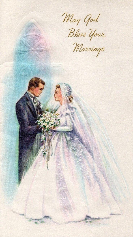 Открытки на свадьбу в ретро стиле, прикольные для