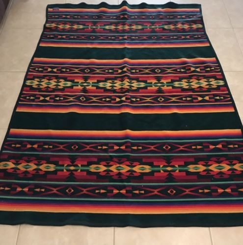 Beautiful-Beaver-State-Pendleton-Wool-Blanket-67-X-49