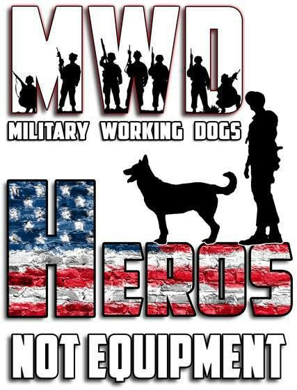 Military Working Dogs so true god bless them for all the do with loyalty and love www.capemaysbest.com