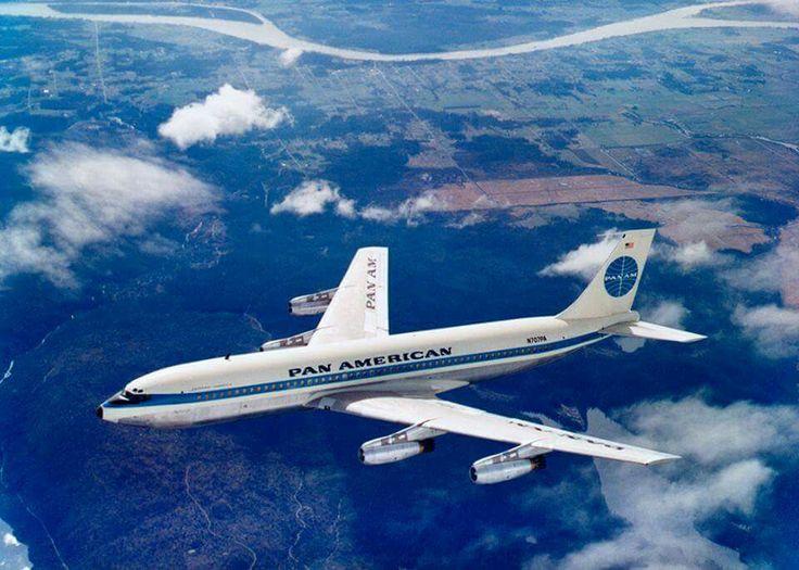 PanAm B707 Jet Clipper Defiance 1964