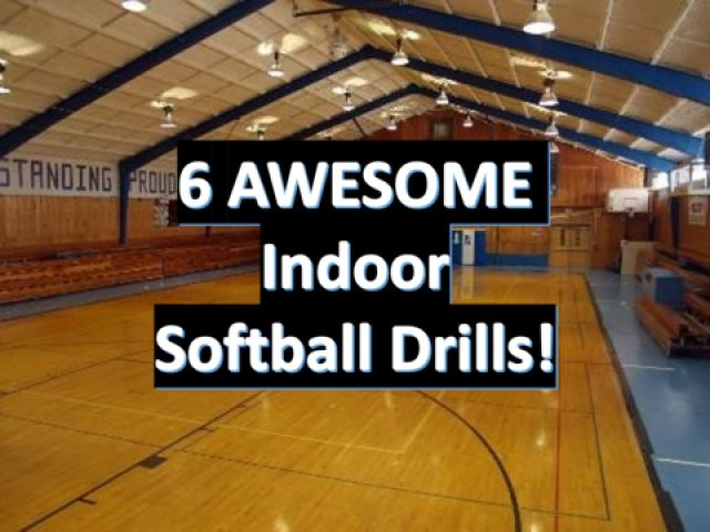 When it comes to sports such as softball and baseballs, which are played mostly outside with practice sections being outside, it can become inevitable that you have to incorporate both softball drills and training indoors.