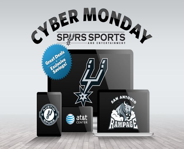 Cyber Monday from Spurs Sports & Entertainment