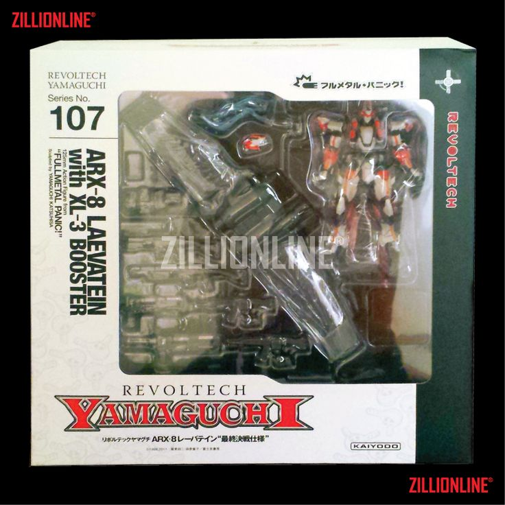 [ACTION-FIGURE] NON-SCALE REVOLTECH YAMAGUCHI ~ SN.107 ARX-8 LAEVATEIN + XL-3 BOOSTER.  Bagikan :   MIXED ACTION FIGURES [REVOLTECH] SN.107 [ACTION FIGURE] ARX-8 LAEVATEIN + XL 3 BOOSTER. Region: JAPAN. Condition: MISB (MINT) / NEW. Made by REVOLTECH YAMAGUCHI / KAIYODO.
