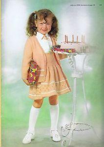 Girls Boys Vintage Knitting Crochet Patterns Sweaters Pullovers Jumper Cardigans | eBay