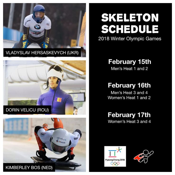 We will be focusing on three athletes: our #wednesdaywarriors from a few weeks back: @iceformulaone, @velicu_skeleton, and @kimberleyb0s as they compete in the Skeleton competition; bringing you their news, results, and updates as they progress through these Games.  #olympics #pyeongchang2018 #skeleton #sliding #ukraine #romania #holland #athletes #awesome #NoFearOfFalling
