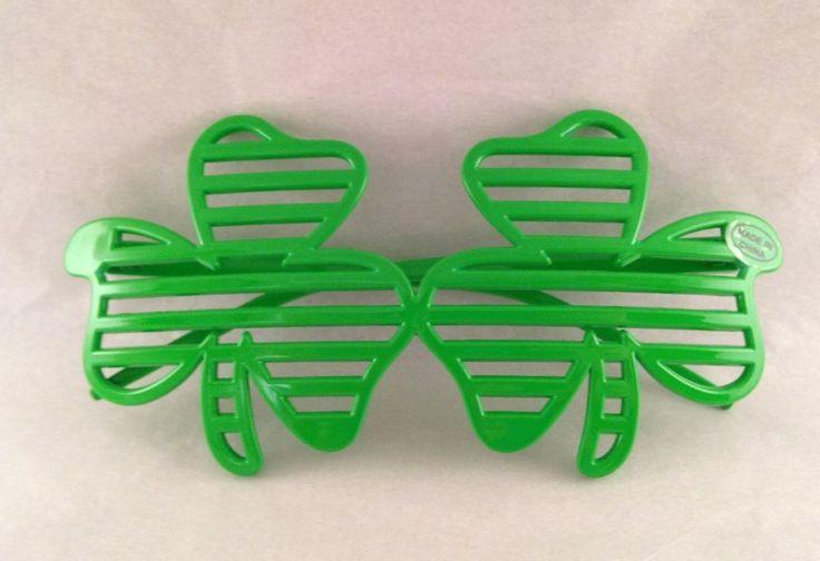 Coors Light St. Patrick's Day shamrock glasses eyeglasses  | eBay