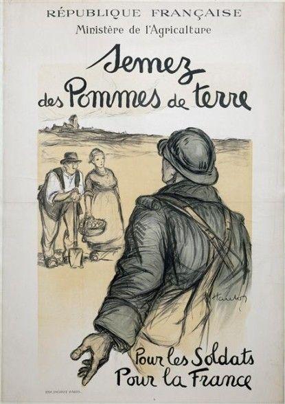 Affiche guerre 1914/1918 - archives mairie de Fillé