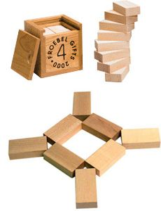 Froebel Gift 4 (ideas for presentation and use)