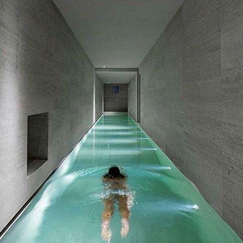 Insane Indoor Pool Montalcino House By Gerda Vossaert Architects David Groppi Daniele