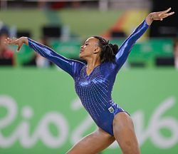 2016 Rio Olympics: Team Final - Brazil (Rebeca Andrade)
