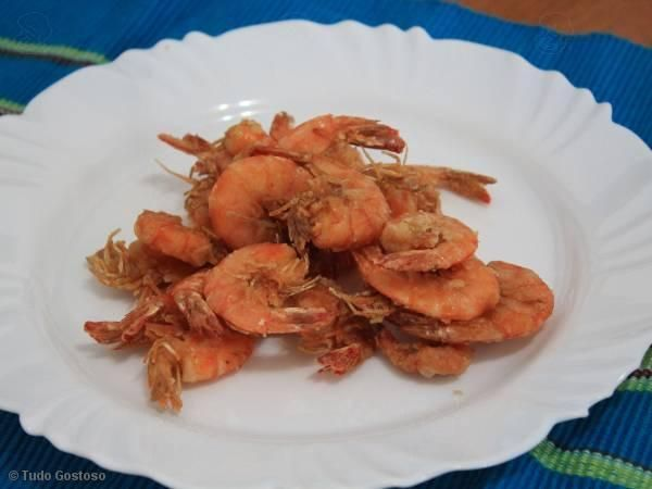 Receita de Camarão frito