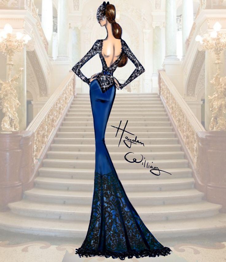 Hayden Williams Haute Couture FW15: Look 3