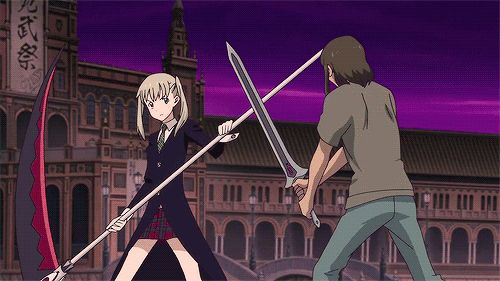 Maka once again being a complete badass