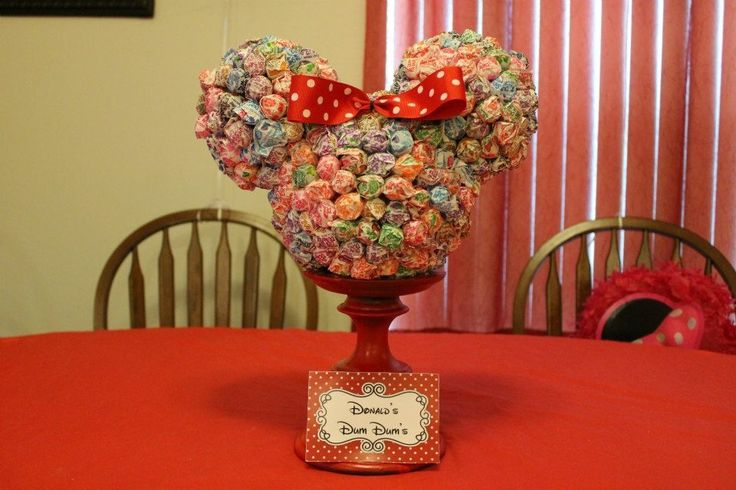 birthday ideas- Minnie mouse party on Pinterest  Minnie mouse party ...
