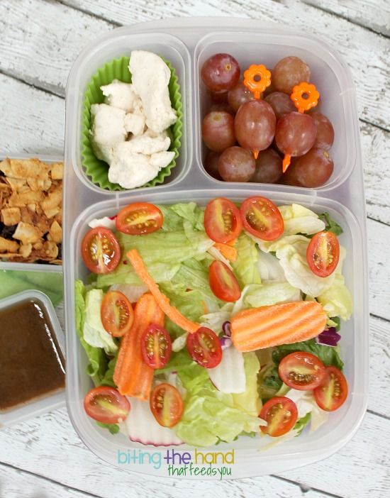 Easy and healthy salad ideas to pack for lunch!