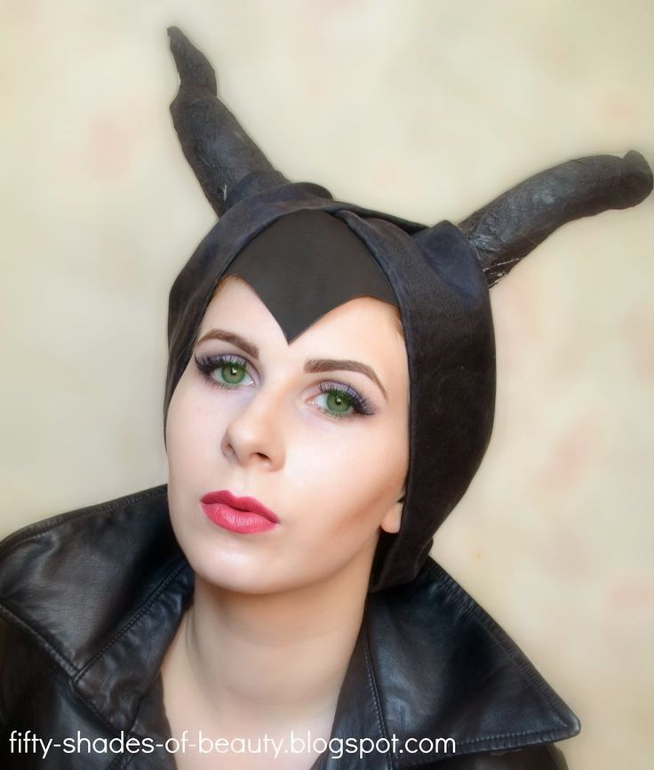 Maleficent Inspired Make Up | http://fifty-shades-of-beauty.blogspot.com/