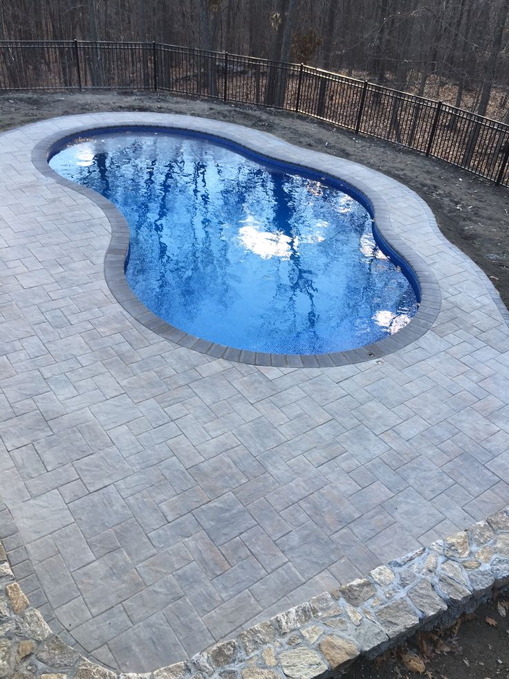 1000 images about in ground pools on pinterest vinyls for Pond shape ideas