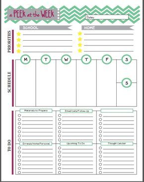 13 Free Planner Pages and Resources For Teachers