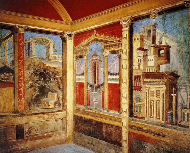 Fresco from the villa Boscoreale.