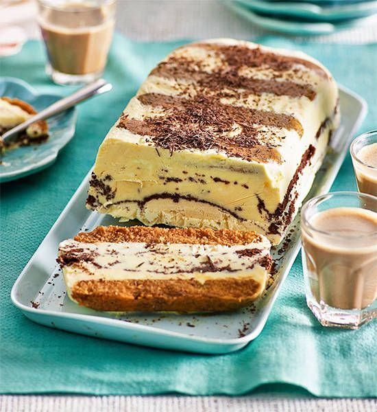 Frozen tiramisu loaf: This frozen version of the Italian dessert classic is light and delicious – the only hard part is stopping at just one slice!