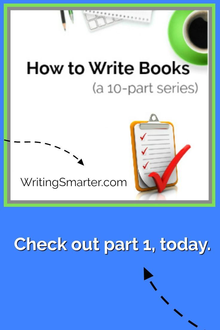 Want to learn how to write a book? This series breaks it