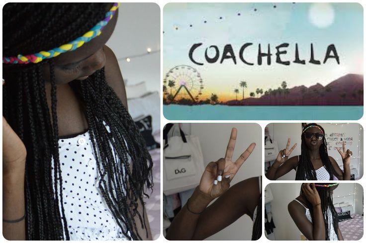 Coachella inspireret - Negle & hår + DIY!