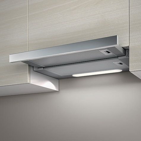 Buy Elica Elite 14 60cm Built-In Cooker Hood, Stainless Steel Online at johnlewis.com £180