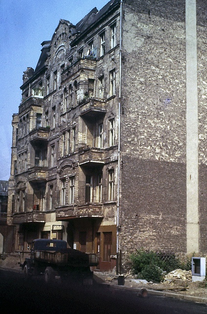 Bomb Damage  By the summer of 1969 much building work remained to be done in East Berlin to repair the damage of the Second World War bombing.  by  HJ in Ches, via Flickr