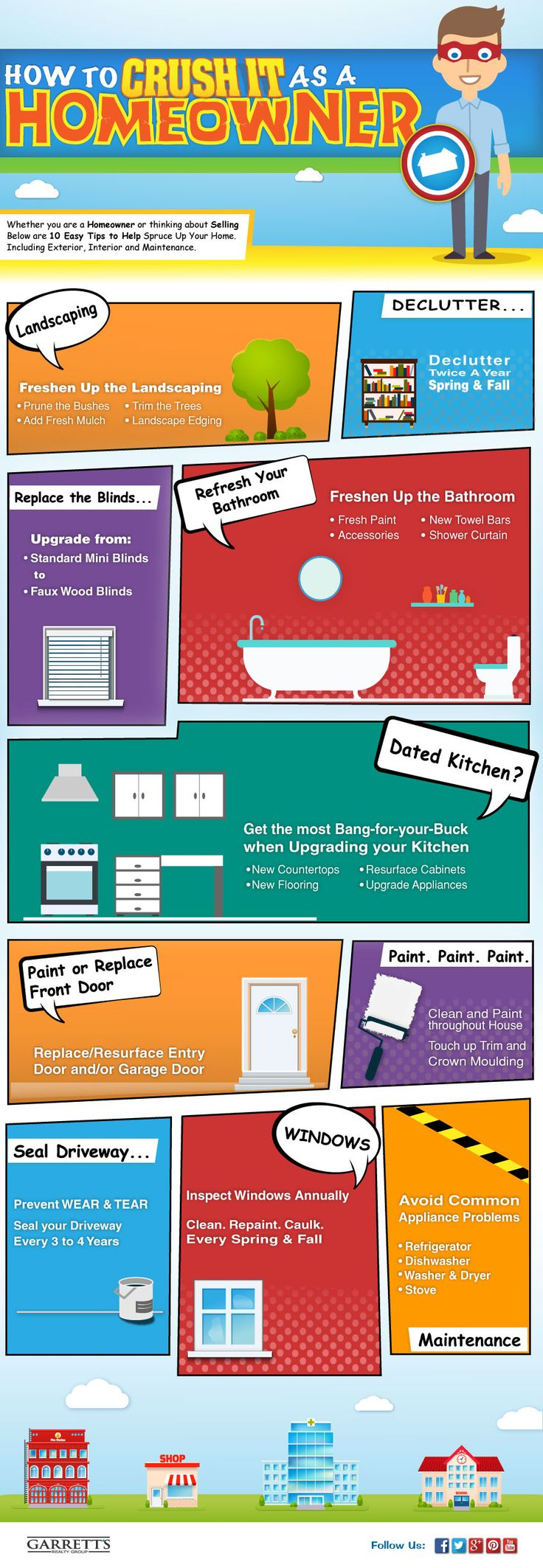 Top 10 tips for your Home: How to Crush it as a Homeowner #ThisGirlSellsHouses #realestate