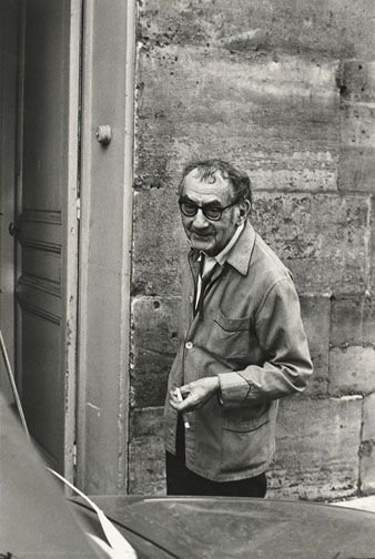Man Ray, Paris 1969 by Henri Cartier-Bresson