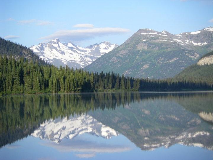 Monkman Lake, Tumbler Ridge, BC