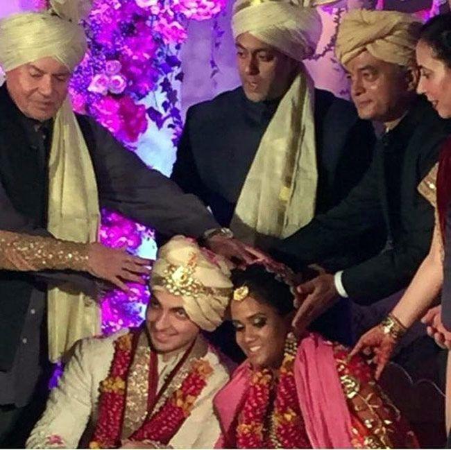 Salman Khan gifts Rolls Royce Phantom to newly-wed couple Arpita and Aayush