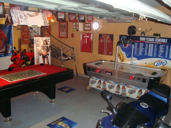 Man Cave Garage Houston : Images about garage ideas on pinterest bar