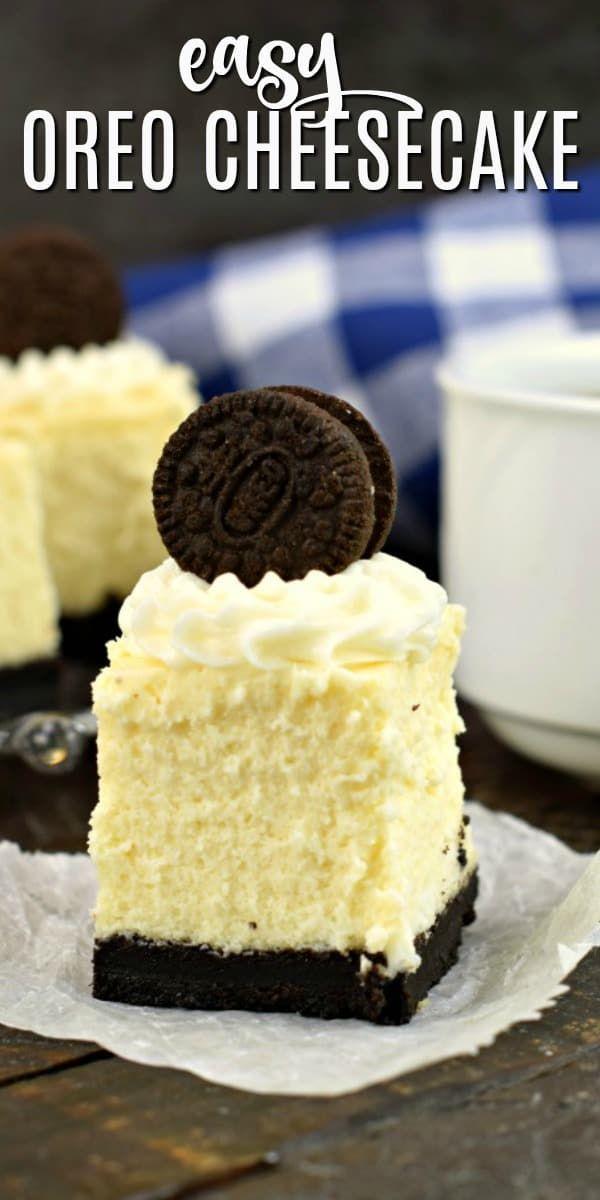 Mini Oreo Cheesecake Bites sind ein köstliches und einfaches Dessertrezept. Diese Käse …