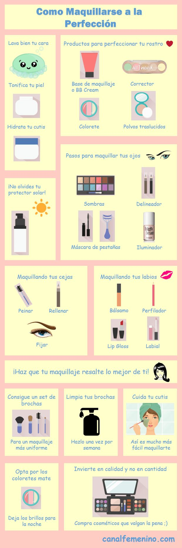 22 best paso a paso maquillaje images on pinterest - Como maquillarse paso a paso ...