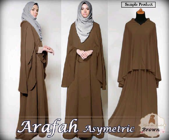 Hijab Fashion 2016/2017: Baju Blus Muslim Arafah Choco Hijab Fashion 2016/2017: Sélection de looks tendances spécial voilées Look Descreption Baju Blus Muslim Arafah Choco