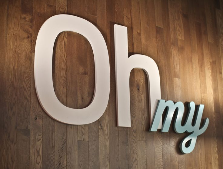 Oh my!: Sayings, Signs, Graphic, Idea, Quotes, Art, Things, Typography, Design