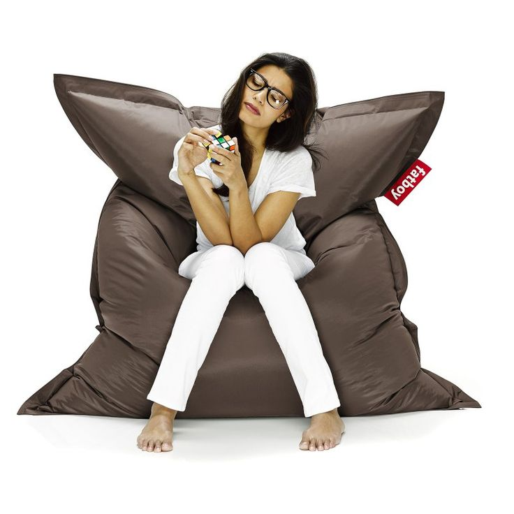 Fatboy Original 6-Foot Extra Large Bean Bag Chair Brown - ORI-BRN
