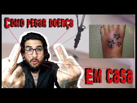 Como adquirir doenças em casa (Stick N' Poke Tattoo)
