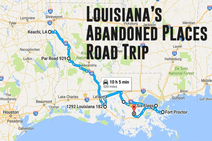 Travel | Louisiana | Exploring | Southern | Road Trip | Drive | Hidden Gems | Local Finds | Abandoned