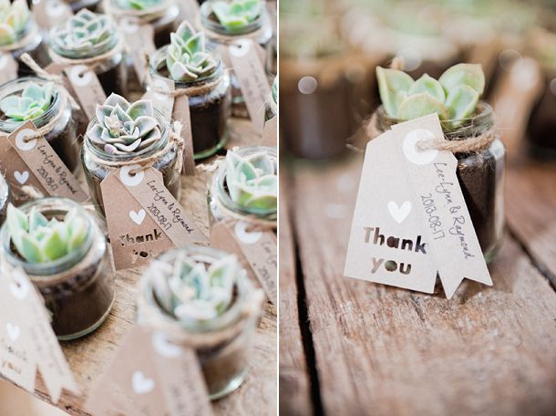 Wedding Favor Ideas - The Girl Creative