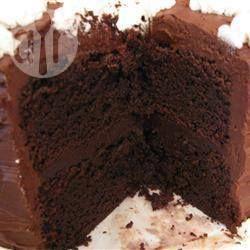 "Recipe of ""fudge cake of a wonderful chocolate"" - All recipes Japan"