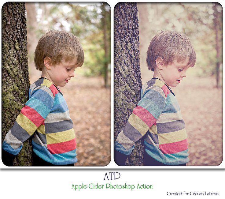 ATP Apple Cider Photoshop Action by AllThingsPrecious.deviantart.com on @DeviantArt