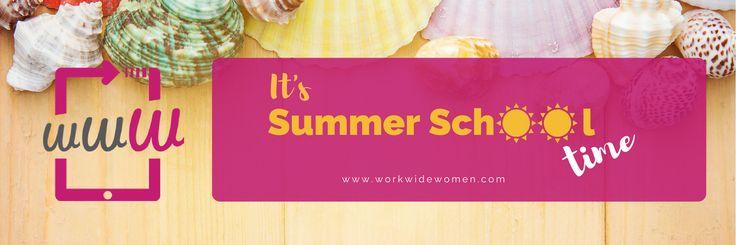 ☀️ ⛱ ⛵️ Inizia l'#estate 2017!! Prenditi un po' di tempo da dedicare a te stessa e alla tua crescita professionale: iscriviti ai corsi della nostra #SUMMERSCHOOL 😎