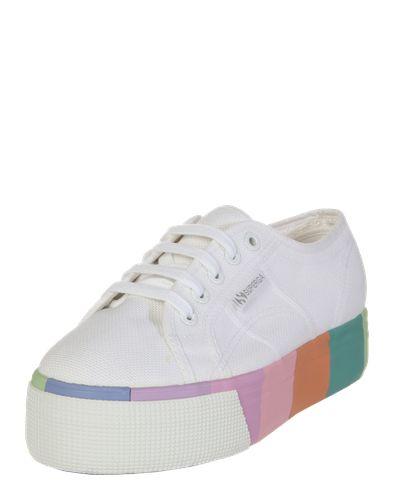 #SUPERGA #Plateau #Sneaker 2790  #Cotmultifoxingw #,   #39, #mischfarben / #weiß, #08052394236628