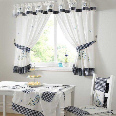 Kitchen curtains styles