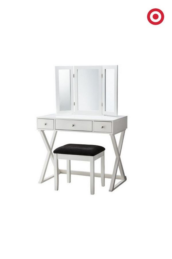 Nothing Feels More Luxe Than Having A Beauty Vanity. Rather Than Costly  Construction, Simply