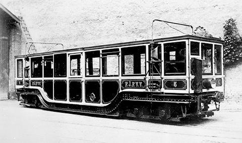 Millenniumi Földalatti Vasút motorkocsija