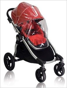 Don't let a little rainy weather stop your little one from enjoying a ride in your Baby Jogger City Select Stroller.This rain canopy is custom designed to enclose the front and sides of the individual City Select seat to protect against inclement w