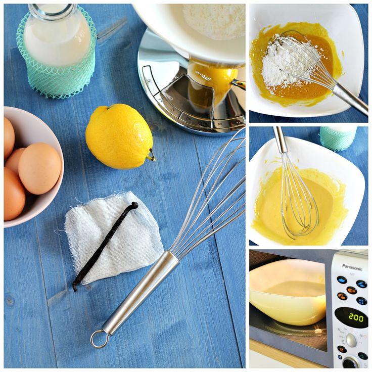 Chiarapassion: Crema pasticcera al microonde e Zucchero liquido